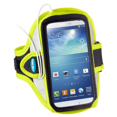 Zier Running Tune Belt AB86 reflective yellow