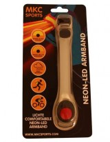 Zier Running Led Safety Band - Rood